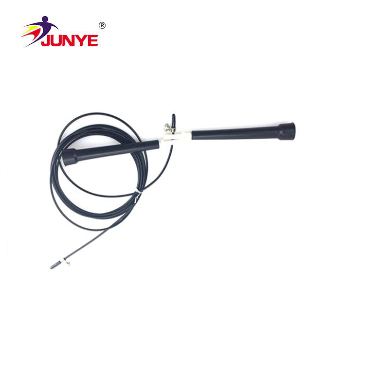 Keep fit customized steel wire rope speed skipping rope