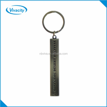 Zinc alloy custom shaped metal key hoder/ engraved key ring/ key chain
