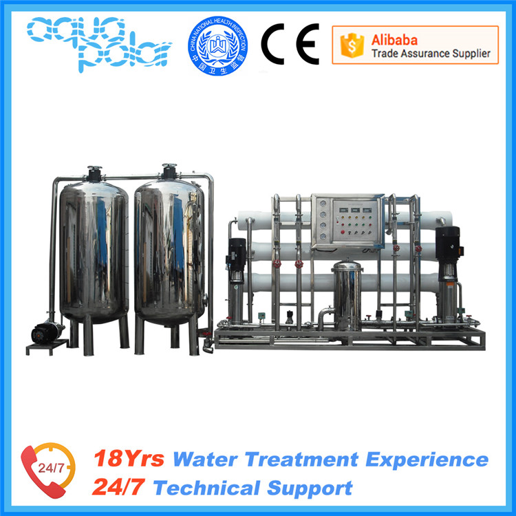 antiscalant water treatment chemicals RO plant machine for underground water