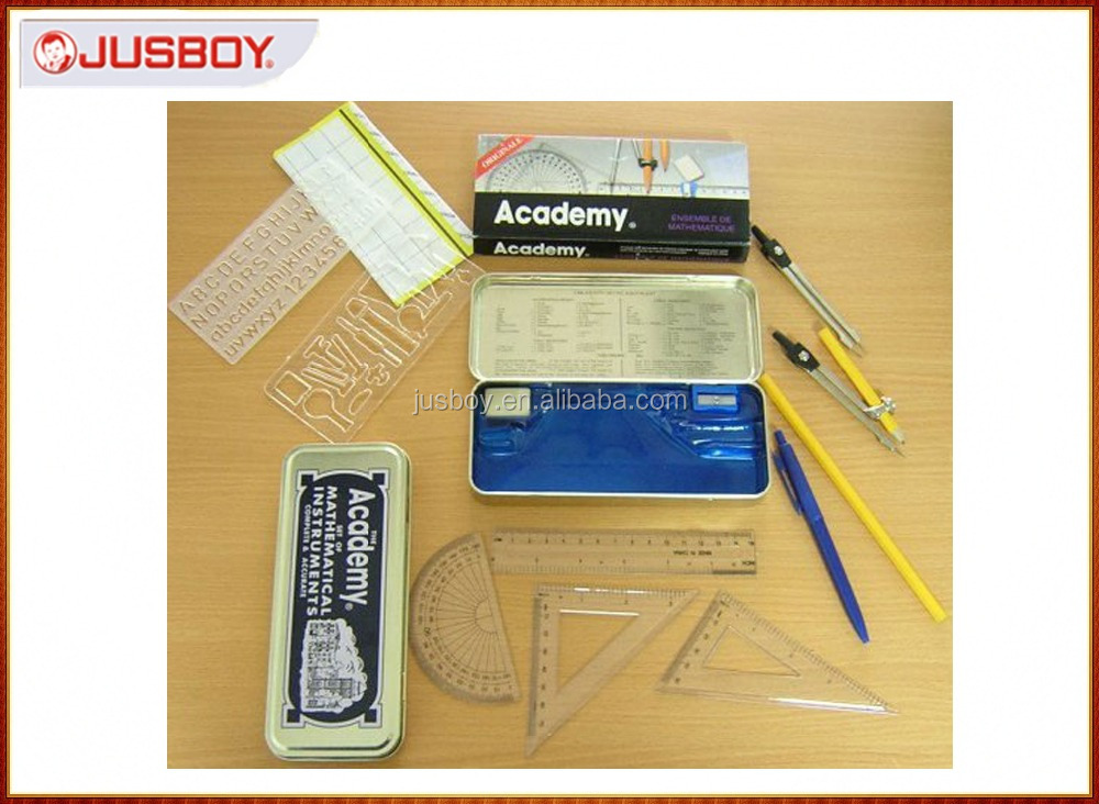 Marshal math set ,geometry set, geometrical tools made in China