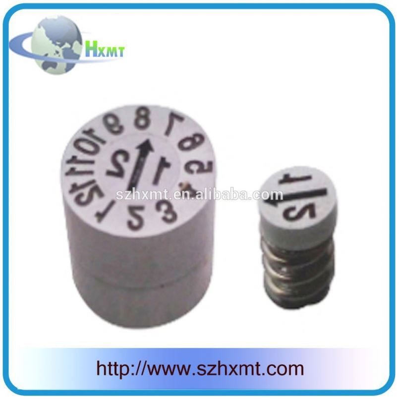High Precision Mould Component Mold Date Code Date Indicator
