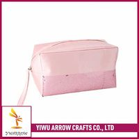Top selling trendy style novelty fabric zipper pouch for cosmetics