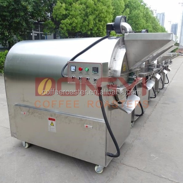 electric continuous roasting machine for sunflower seeds,coco bean, chestnut