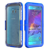 Phone accessories Love Mei powerful case, Shockproof Waterproof Rugged Gorilla Metal Case for samsung note 5