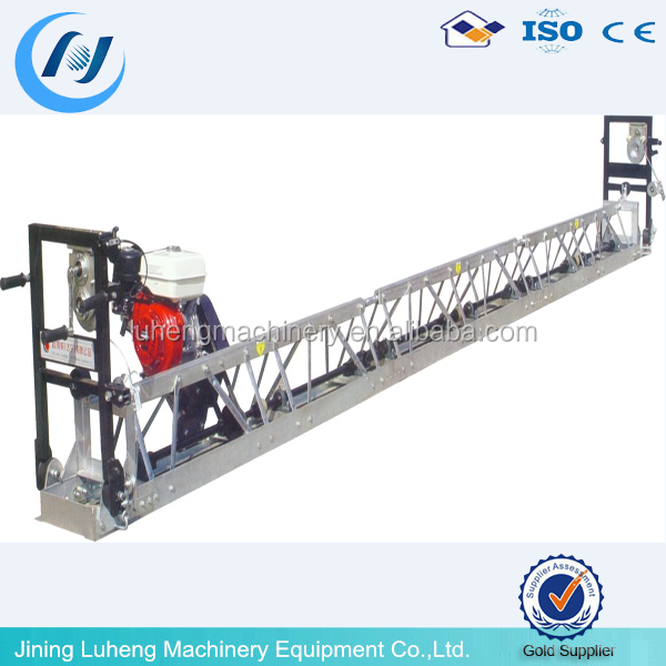concrete floor leveling machine,road leveling machine,concrete truss screed/whatsapp:+8613678678206