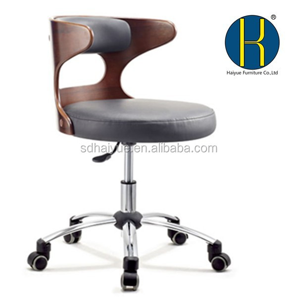 modern plywood office chair wooden chair new office room chairs