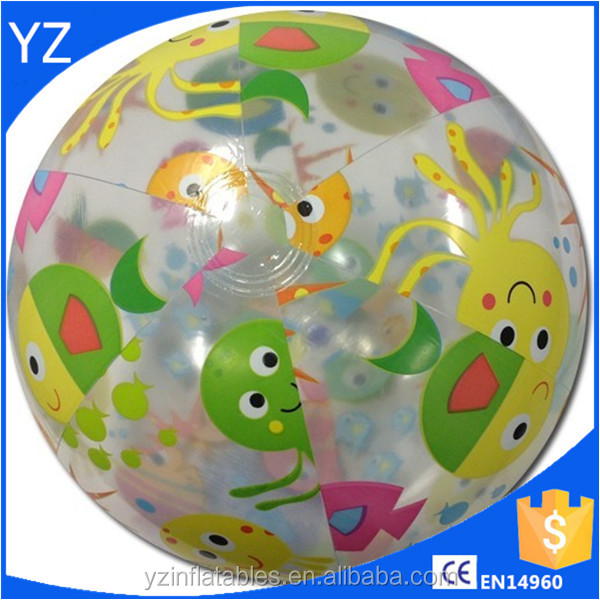 kids rubber beach ball for sale