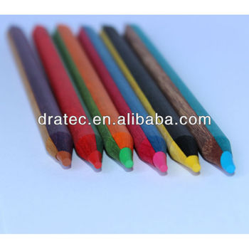 Jumbo color pencil, bicolor pencil, twin color pencils