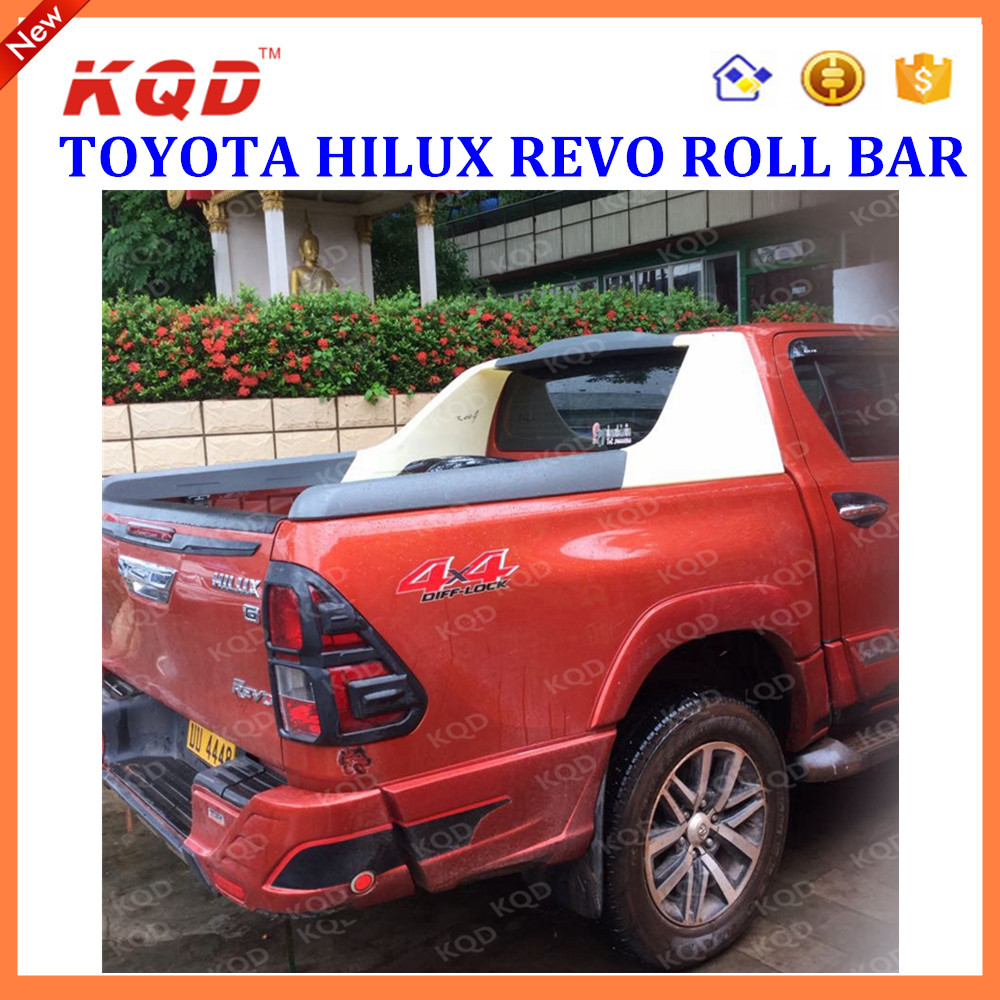 High strength abs plastic rollbar highly fitting cool roll bar hilux for toyota hilux revo