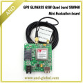 Mini size gnss studying board,Gps glonass signal tracking,5V 115200bps Quad-Band GSM working