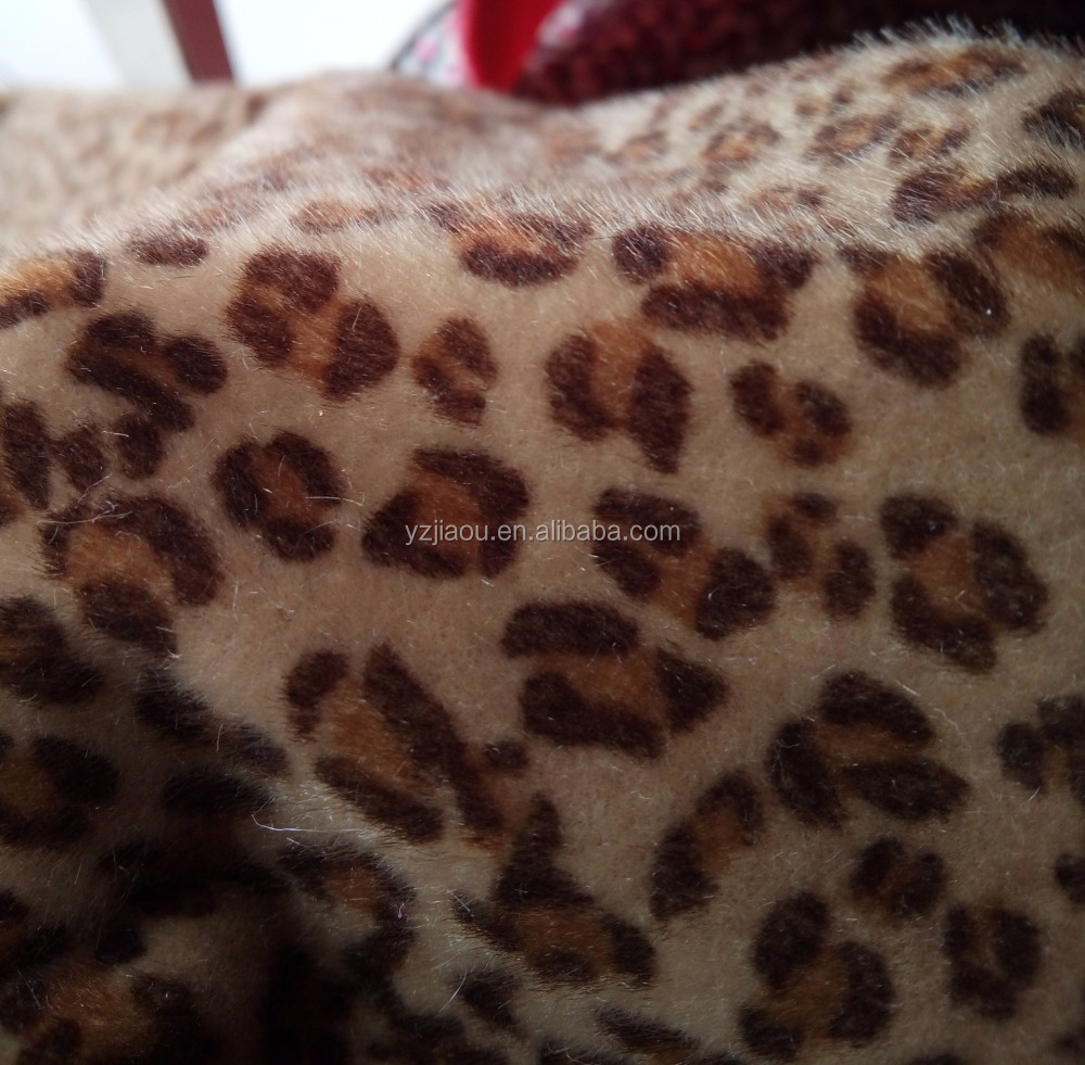 Free Samlpe TOP Quality Imitation mink brazilian hair Animal pattern japanese pattern print fabric