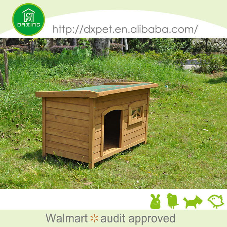 New design easy clean best quality wooden dog kennel