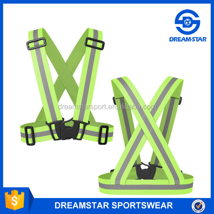 Wholesale Custom Reflection Belt Popular Green