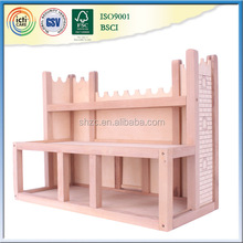 2017 wooden play new set castle ,christmas projector