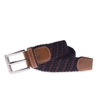 Fashionable hot selling snake buckle elastic belt pu belt