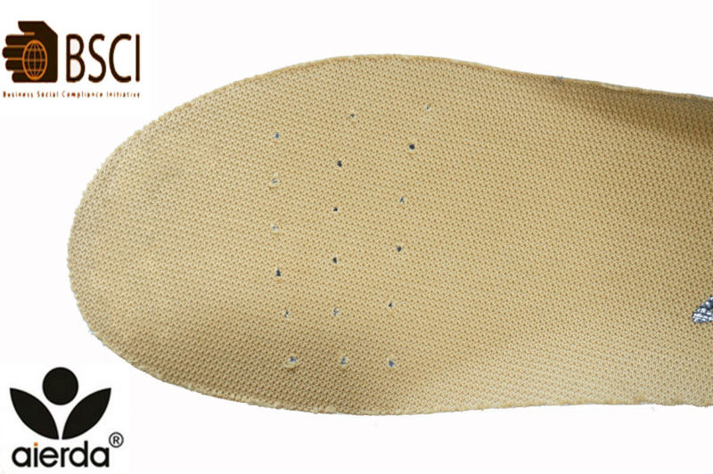 Non-slip Breathable Perforated Hole EVA Insoles For Kids
