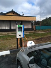 SETEC 50kw AC to DC EV charger station with CHAdeMO connector and CCS connector