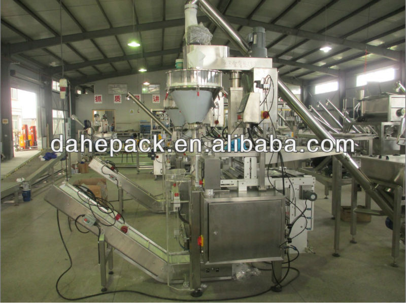 Custom-Made Automatic Big Package Bag Forming Filling Metering Packaging Machine, Packing Machine, Packaging Machine