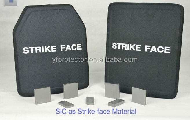 Bullet proof Plates for Army SAPI, NIJ Level III Silicon carbide+PE Bulletproof Plate
