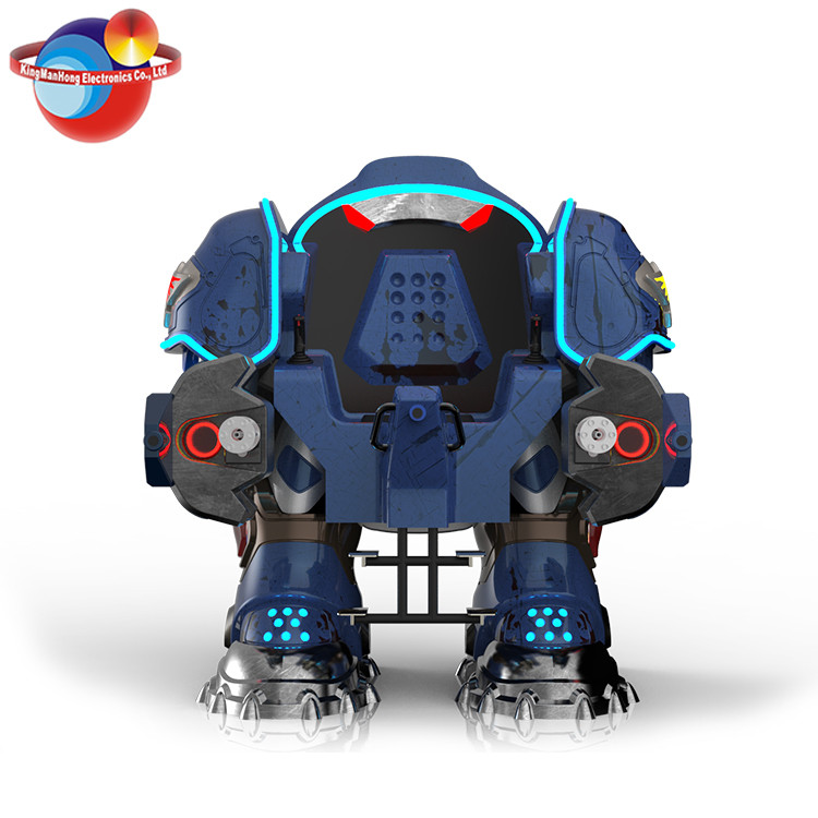 2017 Battle king driving robot kiddy rides arcade kids coin operated game machine