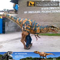 MY Dino-New design mechanical inflatable dinosaur costumes for adults