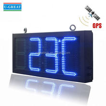 Large outdoor led countdown display digital timer