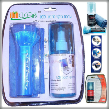 Fashion package 3in 1 200ml Eco-friendly attractive lcd screen cleaning kit