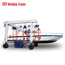 WEIHUA 100t 200t 300t 500t 800t Marine Travel Lift Mobile Boat Hoist