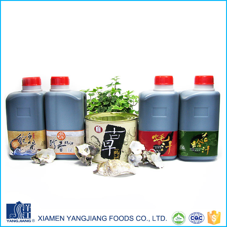 Organic oyster sauce fish sauce chinese cooking seasonings & condiments