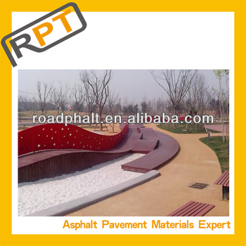 Roadphalt colored cold modified asphalt mixture product