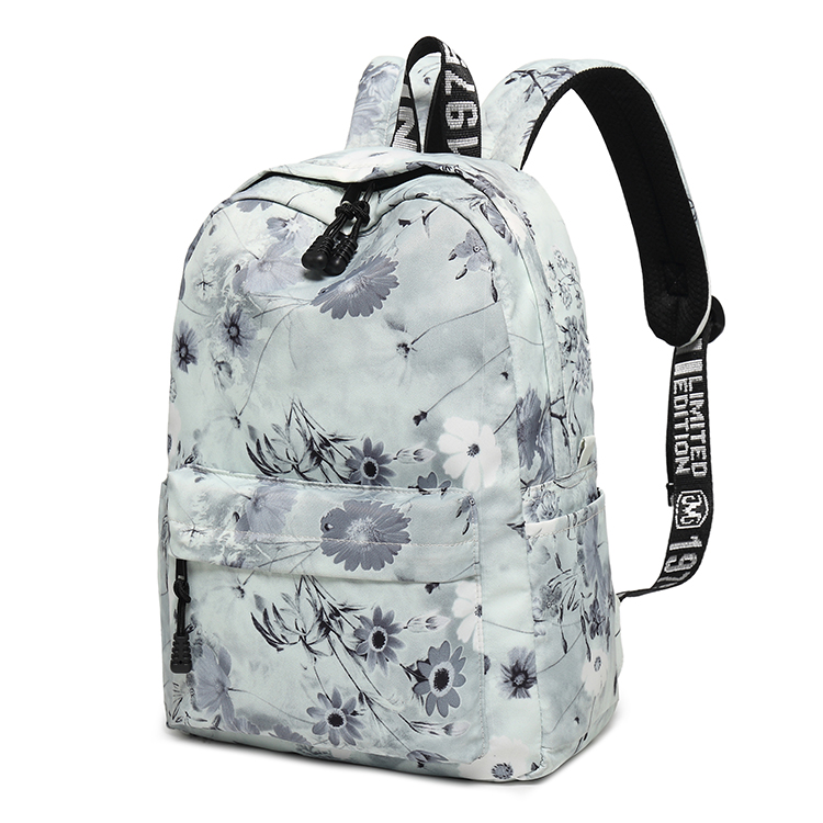 8841 Country style latest school bags bagpack nylon outdoor backpack for girls