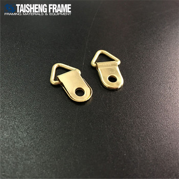 TSK028 Picture frame hardware Golden palted Triangle hanger photo frame hook