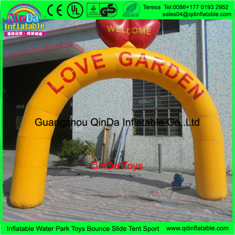 Giant Event Inflatable Arch Custom Shape Balloons Extremely suitable Wedding Arch