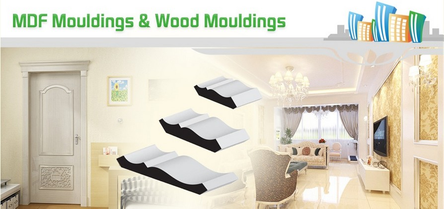 Primed MDF Baseboard Skirting