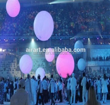 inflatable ball with led light/stand light balloon large/inflatable led ball