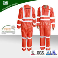 EN471 fire retardant high visibility coveralls for sale