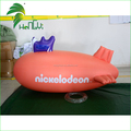 Wholesale Plastic Advertising Inflatable Zeppelin Helium Balloon / PVC Helium Blimp Shape Balloon With Handle For Sale
