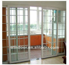 Cheap PVC Kitchen Sliding Door With Fly Mesh