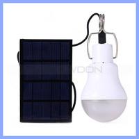 S-1200 Portable 5V 1.2W 150lm Outdoor Spot Light LED Tent Lamp Fishing Light Solar Power Camping Lamp