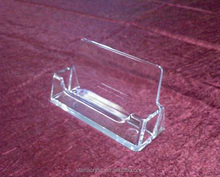 Clear Acrylic Business Card Holder Stand Display