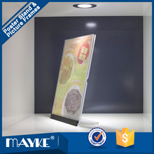 New style top quality A3 Size Acrylic DIY Poster Display stand