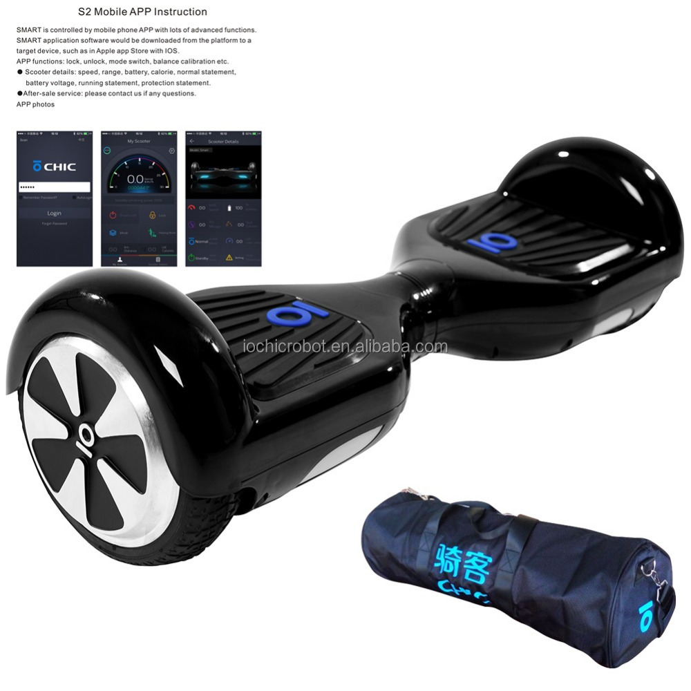 IO Chic Smart 6.5inch Two Wheel Smart Balance Electric Scooter