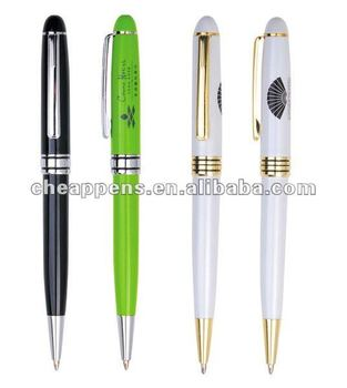high quality advertising metal ball point pen for hotel