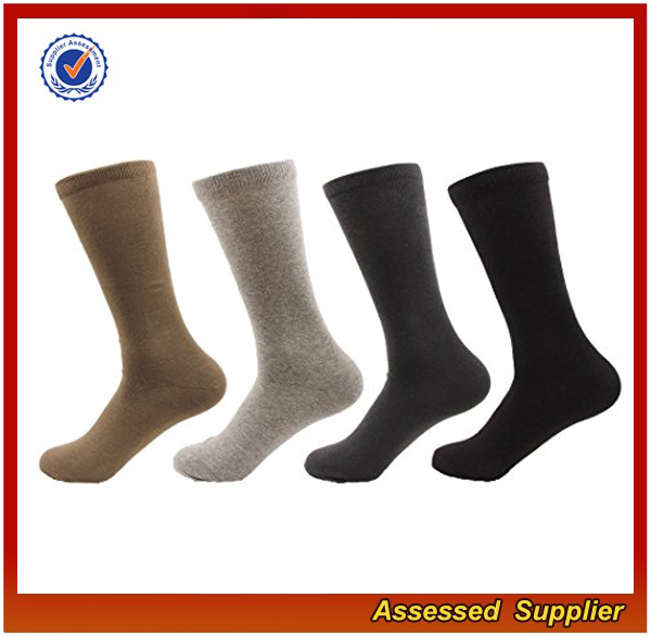 Custom high quality breathable comfortable white and black bamboo fiber socks organic man crew socks for sports running JH34