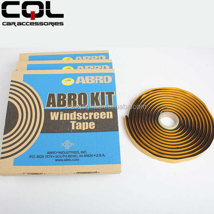 USA ABRO Butyl Adhesive Sealant Tape for Auto Windshield,Snake Glue for Headlight,hot-melting adhavasive tape for headlight