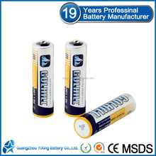 Made in china R6 1.5v dry cell battery