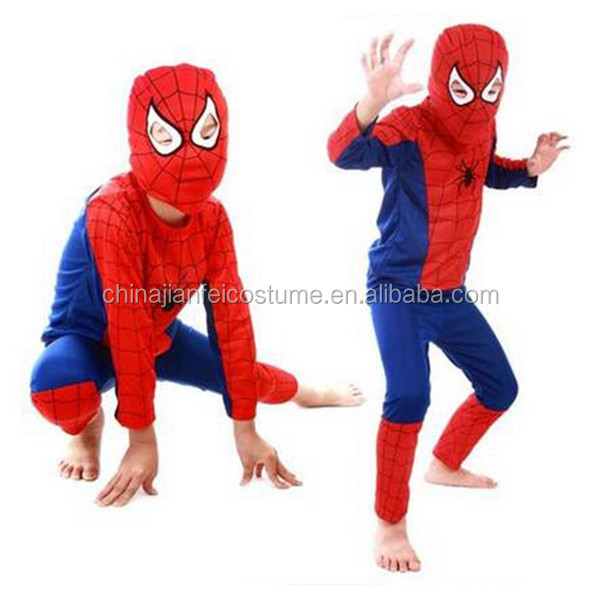 Cheap Halloween Spider Man Costume,.Hot Sale Spider Man Clothes