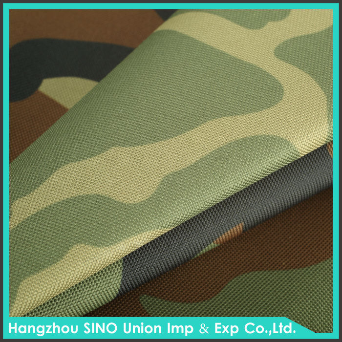 For amy PVC/PU coated digital military ripstop camouflage fabric