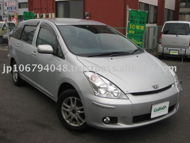 Used TOYOTA WISH X