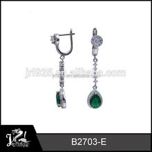 Cheap Price Crystal Fashion baby earrings with safety backs